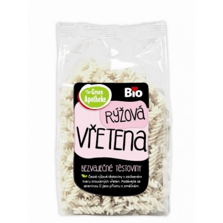 Vřetena rýžová s tapiokou BIO 250g Apotheke