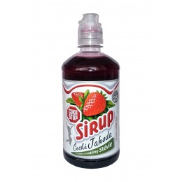 Sirup Jahoda 500ml Nova Fruit - CUKR STOP - Praga Drinks