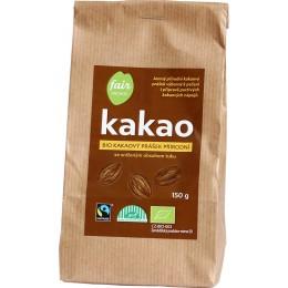 Bio kakao přírodní, snížený obsah tuku, 150 g Fair Trade FO