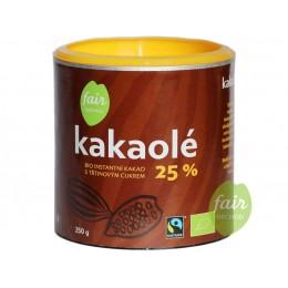 Bio instantní kakao Kakaolé 25%, 250 g Fair Trade FO