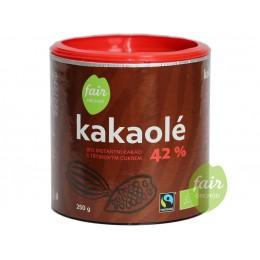 Bio instantní kakao Kakaolé 42%, 250 g Fair Trade FO