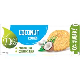 Sušenky BEZ CUKRU s kokosem 150 g EL DIA