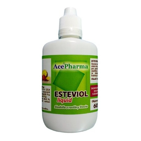 Stevia Liquid 60ml AcePharma
