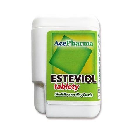 Tablety Stevia, 200ks AcePharma