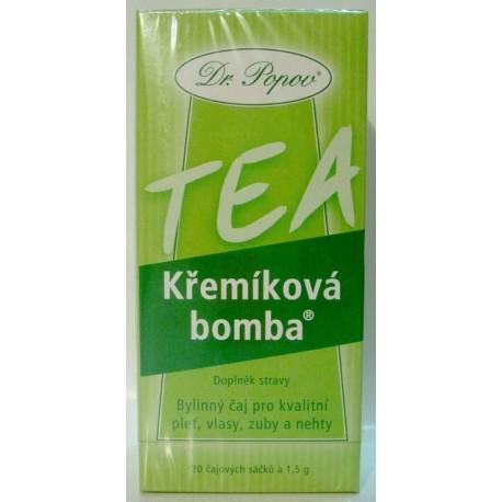 Křemíková bomba - čaj 20 sáčků POPOV