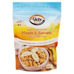 Granola - Křupavé müsli s banány a javorovou příchutí bezlepkové 325 g GLEBE FARM