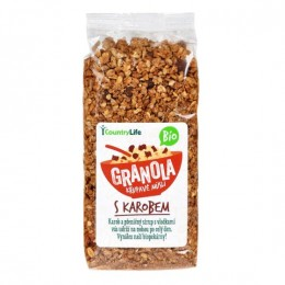 Granola - Křupavé müsli s karobem 350 g BIO CL