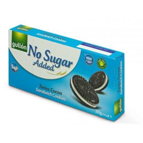 Twins cocoa 210g - kakaové oplatky bez cukru Gullon