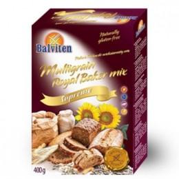 Směs Královského chleba vícezrného - bez lepku - koncentrát 400g Balviten
