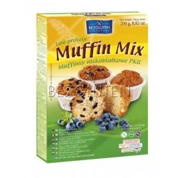Směs na muffiny nízkobílkovinná PKU 250g BEZGLUTEN