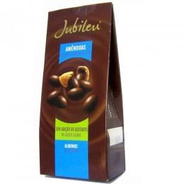 Mandle v mléčné čokoládě bez přidaného cukru 150g Jubileu