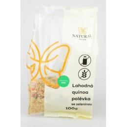 Lahodná quinoa polévka se zeleninou bez lepku (směs na 0,75l polévky) - Natural 100g