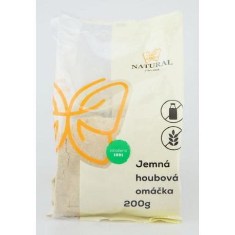 Jemná houbová omáčka bez lepku (směs na 1,5l omáčky) - Natural 200g