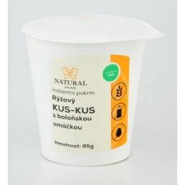 Rýžový kus-kus s boloňskou omáčkou - Natural 85g