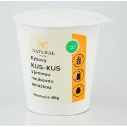 Rýžový kus-kus s jemnou houbovou omáčkou - Natural 85g