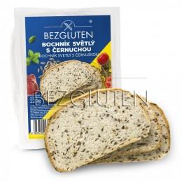Chléb bílý s černuchou, bez lepku 220g SUPERFOODS BEZGLUTEN