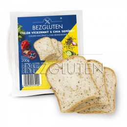 Chléb vícezrný s CHIA semínky, bez lepku 200g SUPERFOODS BEZGLUTEN