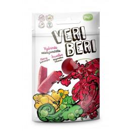 Ovocné stripsy višně 50g - Veri Beri