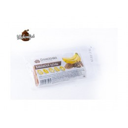 OVOCNÁ SVAČINKA Banánová s kardamonem 60g DAMODARA