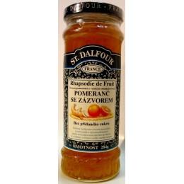 Džem St. Dalfour - Pomeranč se zázvorem 284g