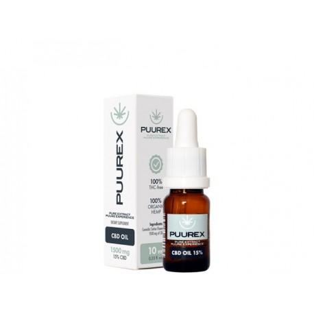 CBD olej 15% 1500 mg 10 ml PUUREX