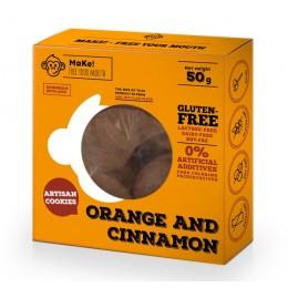 Pomerančovo-skořicové sušenky 50g bez lepku MaKe PREMIUM