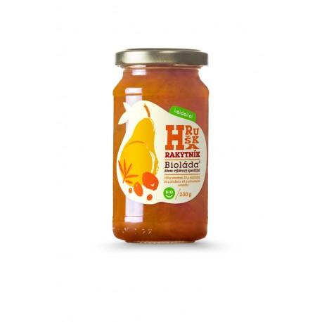 Džem - Bioláda Rakytník a Hruška 230 g bez přidaného cukru