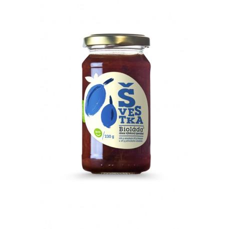 Džem -Bioláda® Švestka 230 g bez přidaného cukru