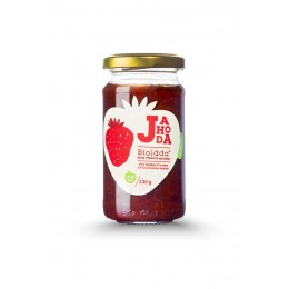 Džem - Bioláda Jahoda 230 g bez přidaného cukru