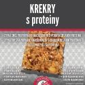 Krekry s proteiny 250 g bez lepku Adveni