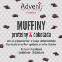 Muffiny proteiny & čokoláda 280 g bez lepku Adveni