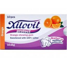 XILOVIT PROTECT – pomeranč žvýkačka 10 KS