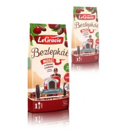 Müsli Bezlepkáč – višně a kakao 1 porce LeGracie