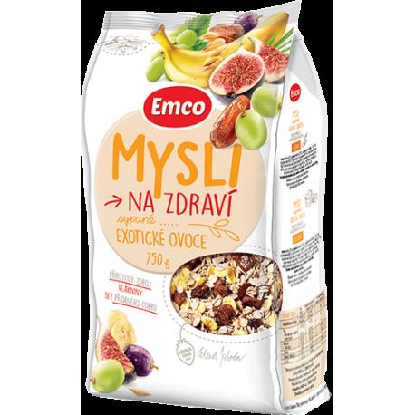 Müsli – sypané s kousky exotického ovoce 750g EMCO