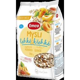 Müsli – sypané lehké a křehké Meruňka a quinoa 550g EMCO