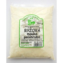 Mouka rýžová polohrubá 500g ZP