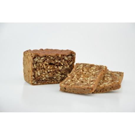 Chléb tmavý rustikální bez lepku balený - Natural 390g