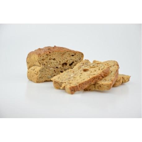 Chléb tmavý semínkový bez lepku balený - Natural 245g
