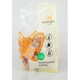 Sušenky pomerančové s datlovým sirupem bez lepku, mléka a vajec - Natural 150g