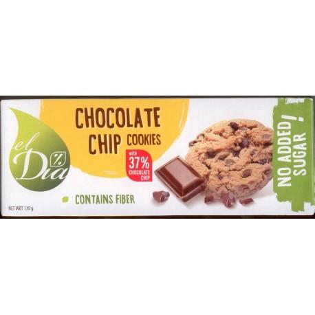 Sušenky BEZ CUKRU Chip Choco 150 g EL DIA