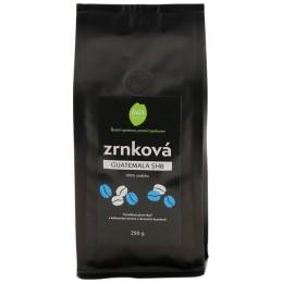 Zrnková káva Guatemala SHB, 250 g Fair trade FO