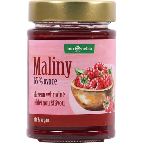 Bio Jahody - pomazánka s jablečnou šťávou bez sacharózy 200 g