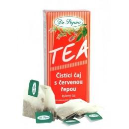 Čistící čaj s červenou řepou - 20 x 1,5g POPOV