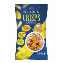 Chipsy s příchutí slaniny, bez lepku 70g Bezgluten