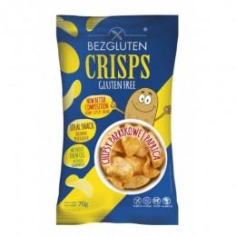 Chipsy paprikové, bez lepku, 70g BEZGLUTEN