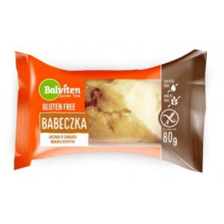 Bábovička světlá s vanilkovou příchutí, bez lepku, 80g Balviten