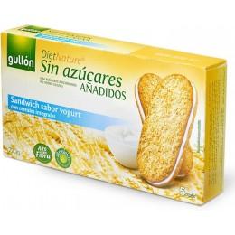 Sandwich s jogurtovou náplní 220g - celozrnný bez cukru Gullon