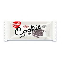 Cookie sandwich 36g - kakaové sušenky plněné krémovou náplní s vanilkovou příchutí CELITA