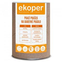 Ekologicky odbouratelný prací prášek na barevné prádlo dóza 850g EKOPER