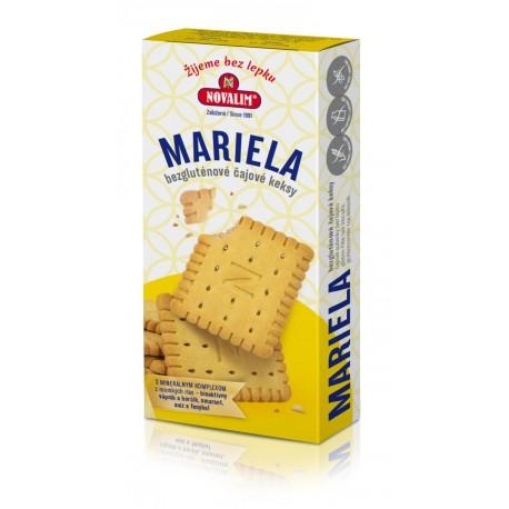 Mariela - bezlepkové čajové sušenky s minerálním komplexem 140g Novalim